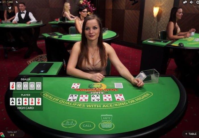 Live Dealer Casino Games at Intertops.com