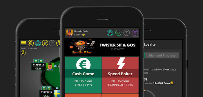 Bet365 Mobile Poker Android iPhone