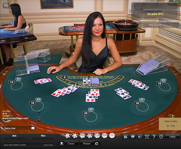 Betfair Live Dealer Casino Games
