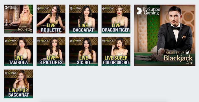 Bodog India Casino Live Dealer