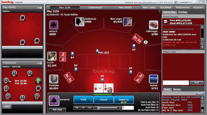 Bodog Poker Mobile App