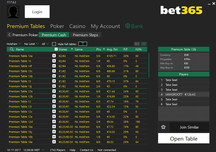 Bet365 Real Money Games