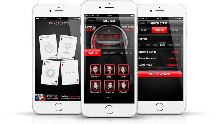 Real Money iPhone Poker Apps