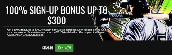 XBet Sportsbook Bonus