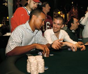 A pre-flop flat call is a useful strategy for even poker pros like Phil Ivey.