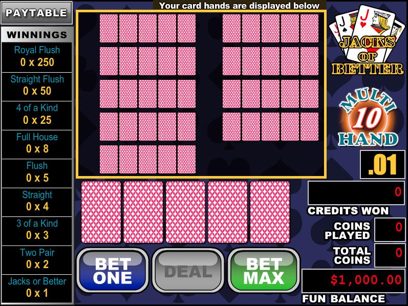 BoVegas Casino Video Poker Review