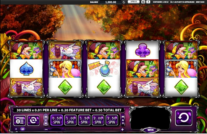 Alice and the Mad Tea Party Slots