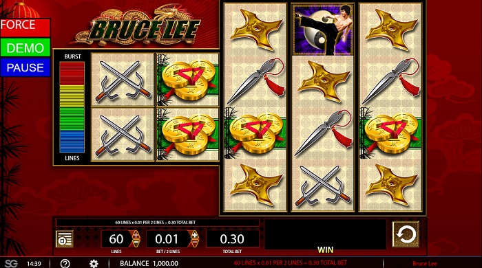 Bruce Lee Online Slot
