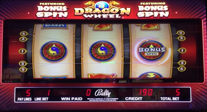 Dragon Wheel Online Slot
