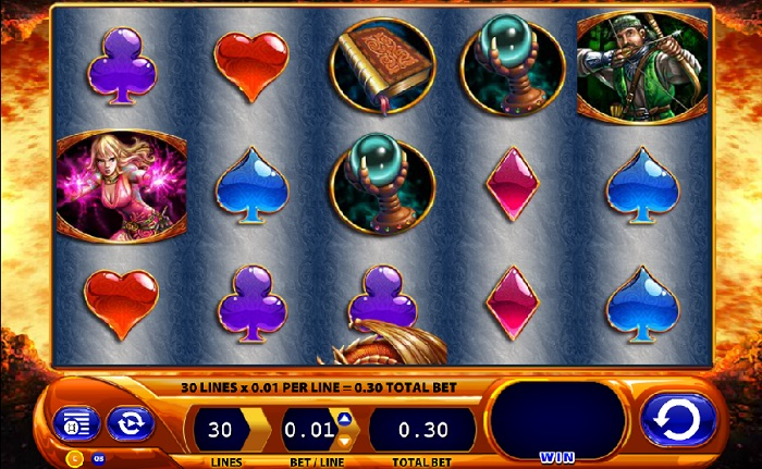Dragon's Inferno Slots WMS