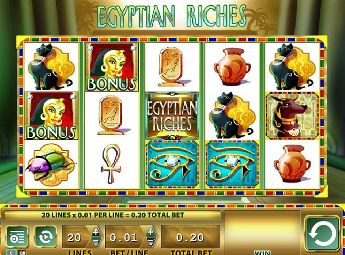 Egyptian Riches Online Slot WMS