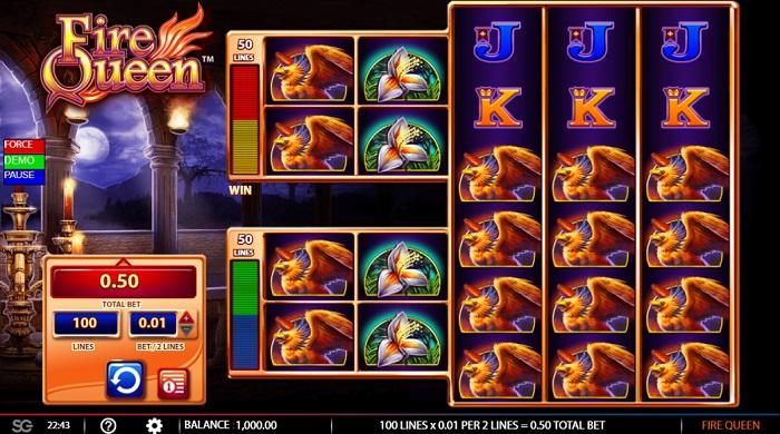 Fire Queen Slots WMS