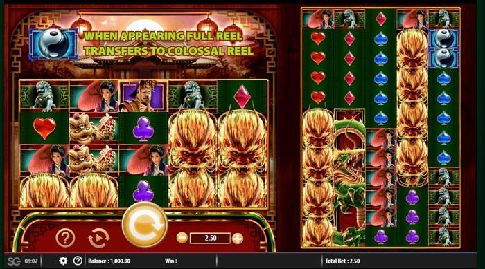 Forbidden Dragons Online Slot WMS