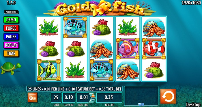 Goldfish Online Slot WMS