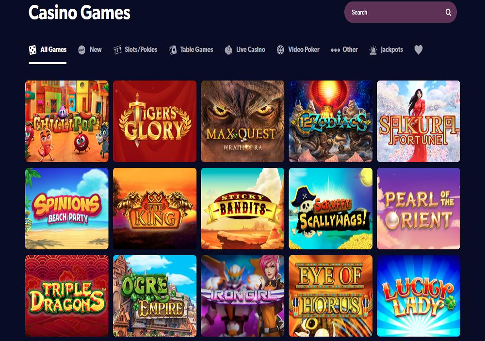 Kahuna Casino Games