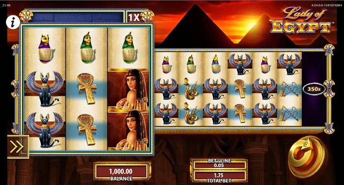 Lady of Egypt Slots WMS