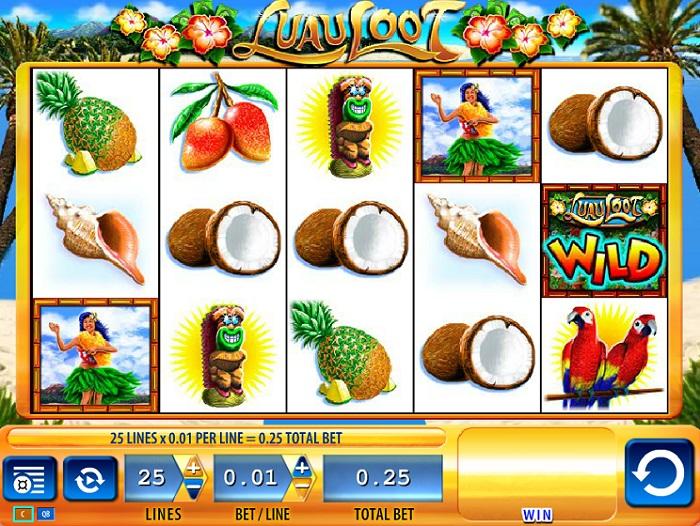 Luau Loot Slots