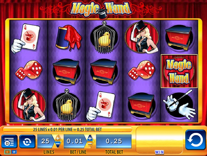 Magic Wand Online Slot WMS
