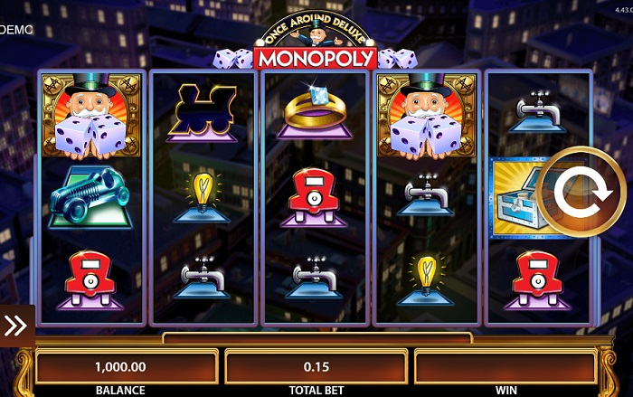 Monopoly Once Around Deluxe Slots
