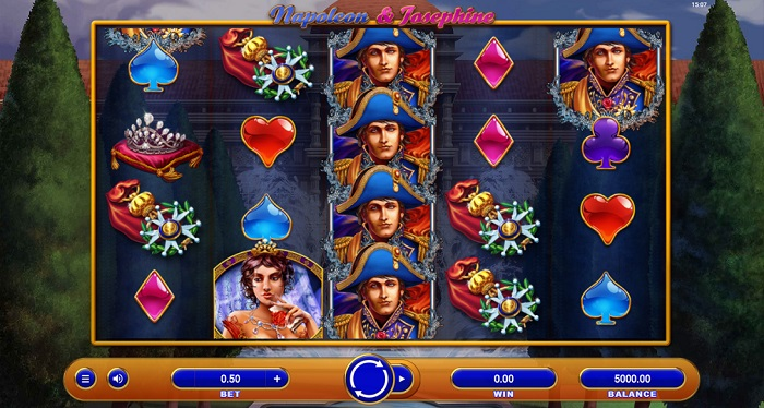 Napoleon and Josephine Online Slot