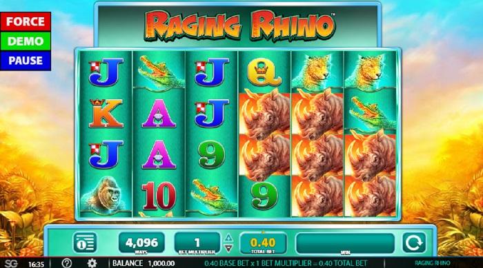 Raging Rhino Online Slot WMS