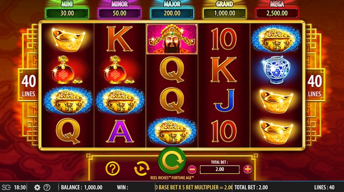 Reel Riches Fortune Age Slots