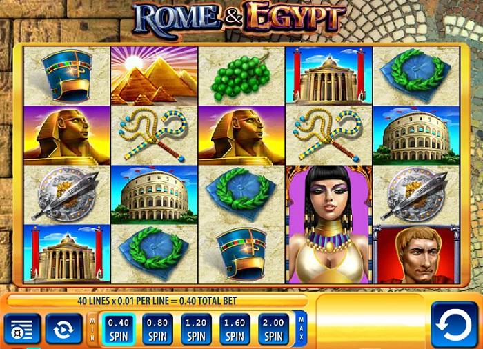 Rome & Egypt Slots