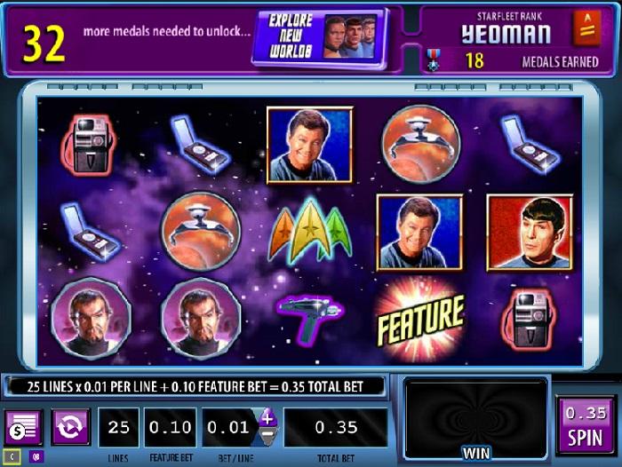 Star Trek Red Alert Online Slot