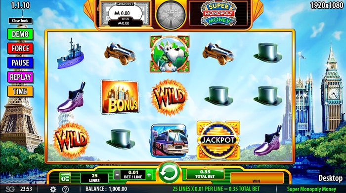 Super Monopoly Money Slots