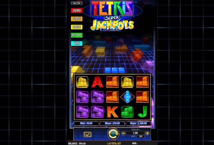 Tetris Super Jackpots Online Slot