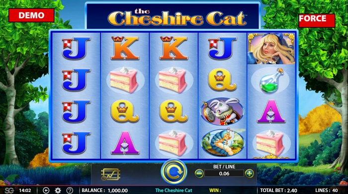 The Cheshire Cat Online Slot