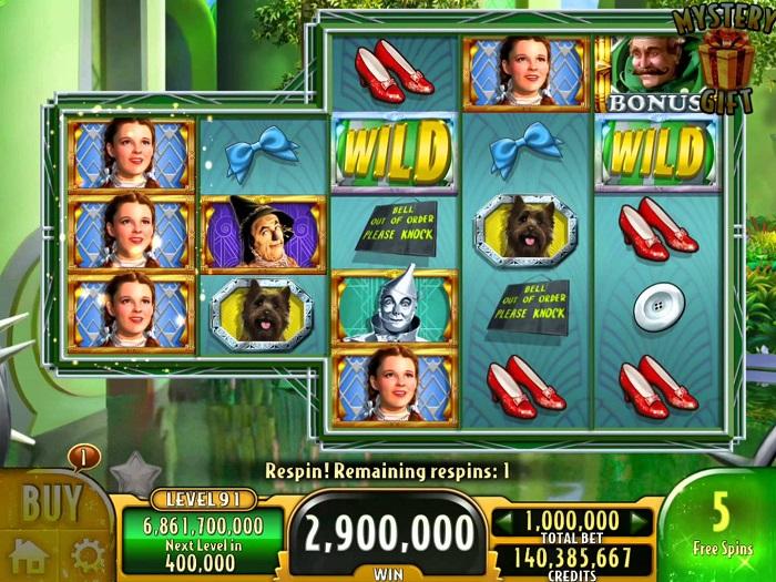 Wizard of Oz Emerald City Online Slot