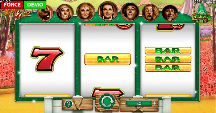 Wizard of Oz Road to Emerald City Online Slot