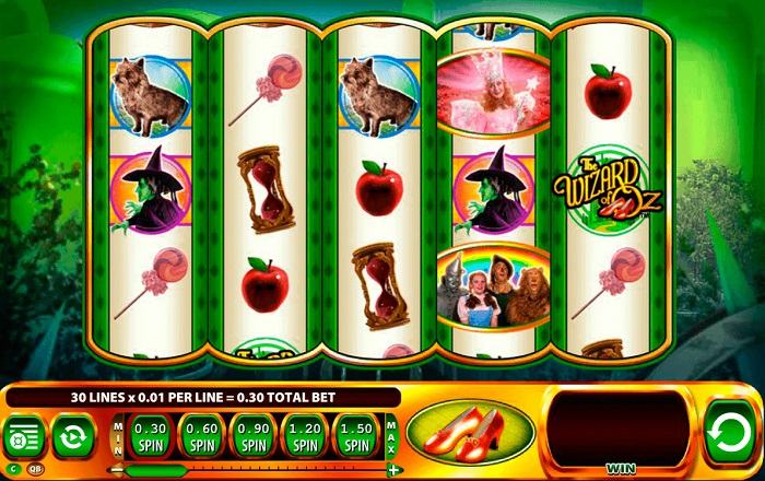 Wizard of Oz Ruby Slippers Online Slot
