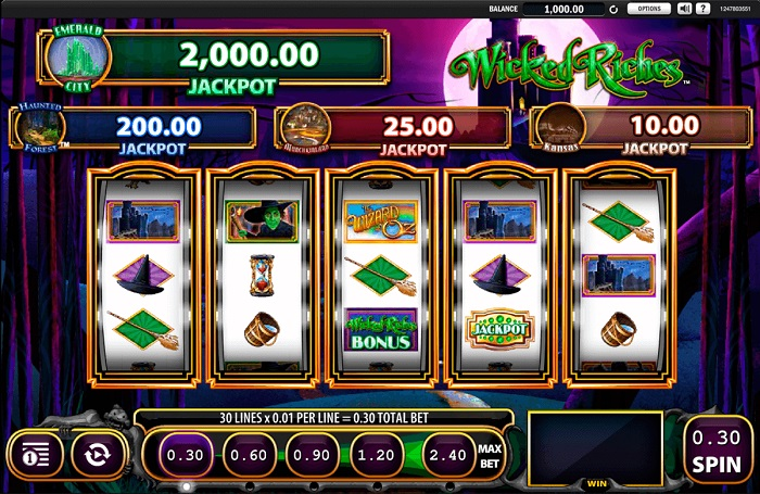 Wicked Riches Online Slot WMS