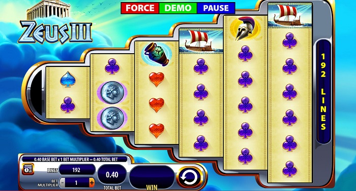 Zeus III Online Slot WMS