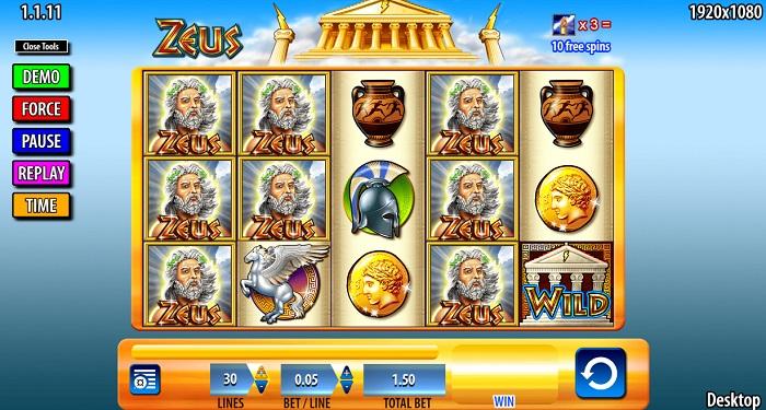 Zeus Slot Wms Online