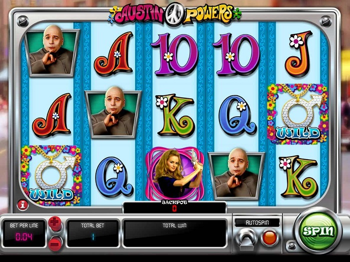 Austin Powers Online Slot WMS