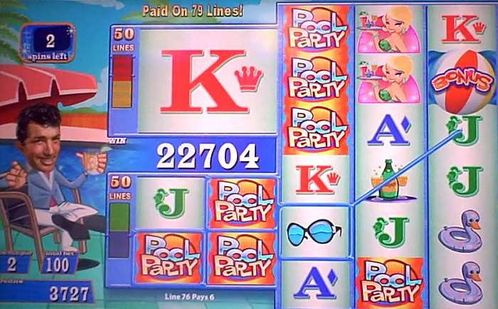 Dean Martin's Pool Party Slots