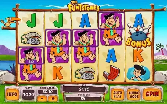 The Flintstones Online Slot WMS
