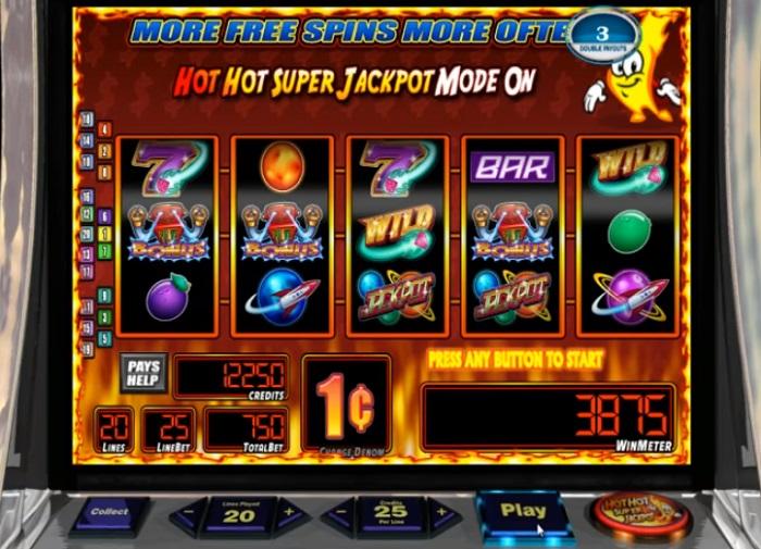 Jackpot Comet Online Slot WMS