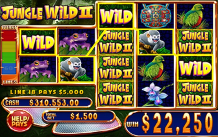 Jungle Wild II Online Slot