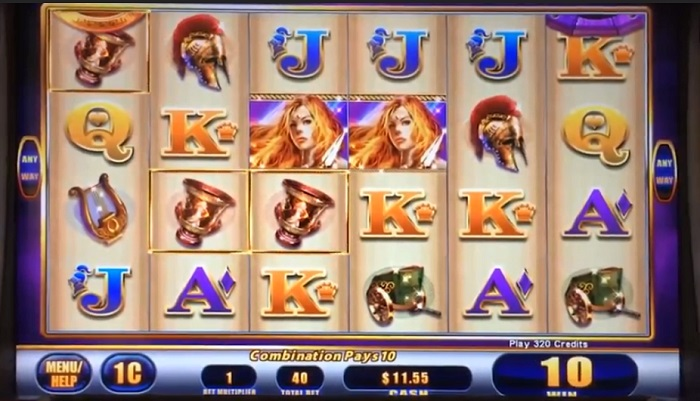 Lady of Athens Online Slot