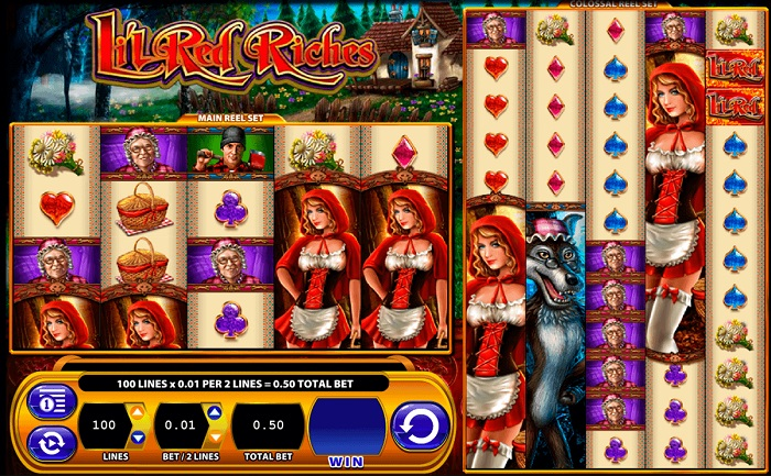 Li'l Red Riches Online Slot WMS