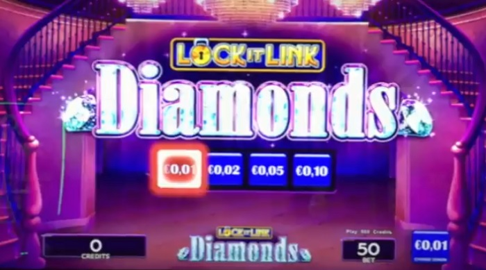 Lock It Link Diamonds Slots from WMS - GambleOnline.co