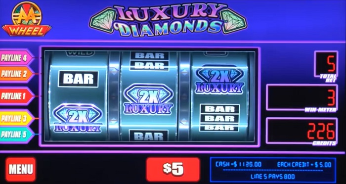 Monopoly Luxy Diamonds Online Slot