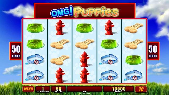 OMG! Puppies Slots WMS