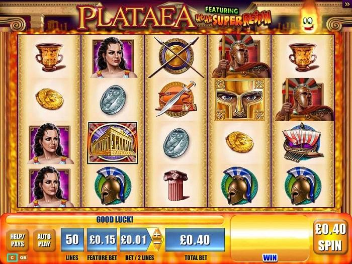 Plataea Online Slots - Hot Hot Super Respin
