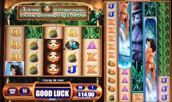 Queen of the Wild II Slots