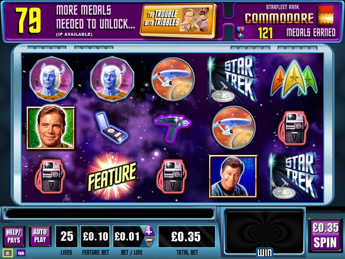 Star Trek Explore New Worlds Online Slot